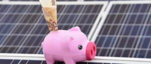 zonnepanelen spaarvarken