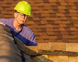Inspectie van een dak