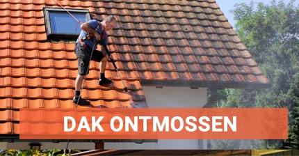 Offertes ontmossen van daken