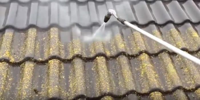 Met een beschermende coating heb je nooit meer last van mos.