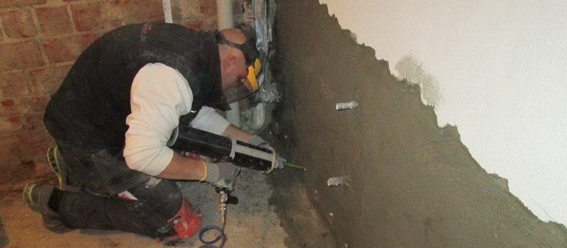 Kelder vochtvrij maken: muren injecteren