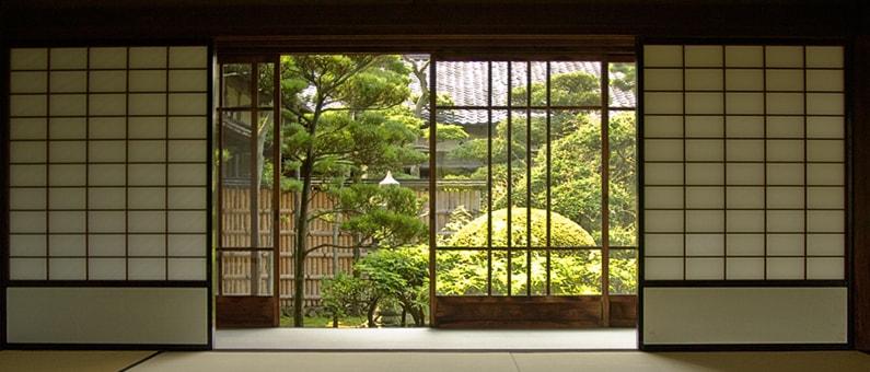 Schuiframen plaatsen: Japans schuifraam