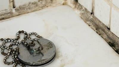 Vochtbestrijding: schimmel in badkamer
