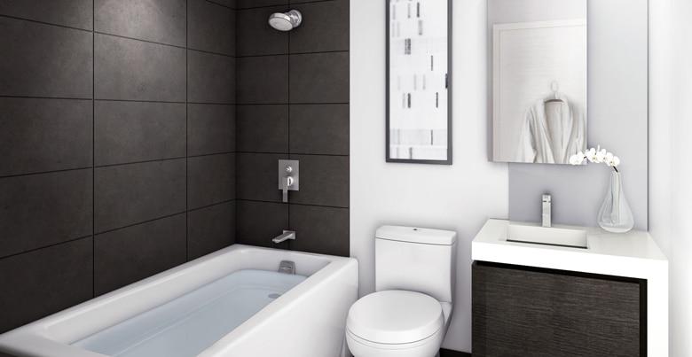 Hoe een kleine badkamer renoveren en inrichten?