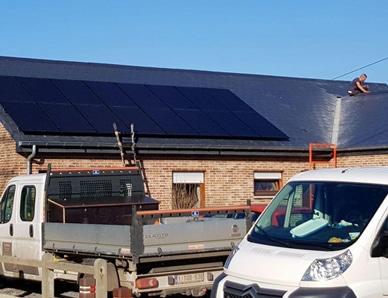 Vlamingen investeren in zonnepanelen