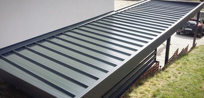 Carport prijzen: Wat is de prijs van de dakbedekking?