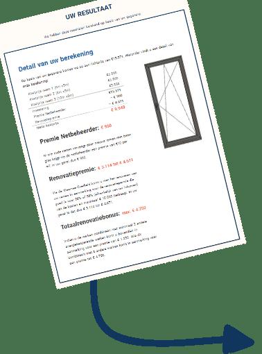 prijs ramen online berekenen