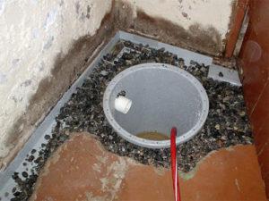 drainagesysteem kelder