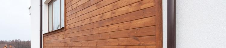 Gevelbekleding: hout