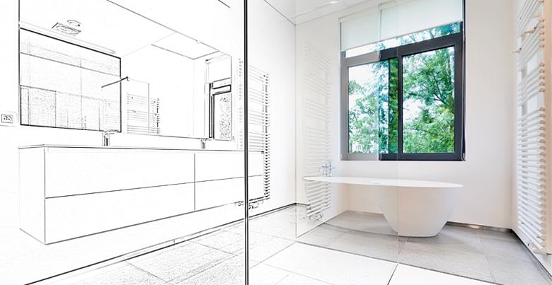 Badkamer renoveren: optimale plaatsing