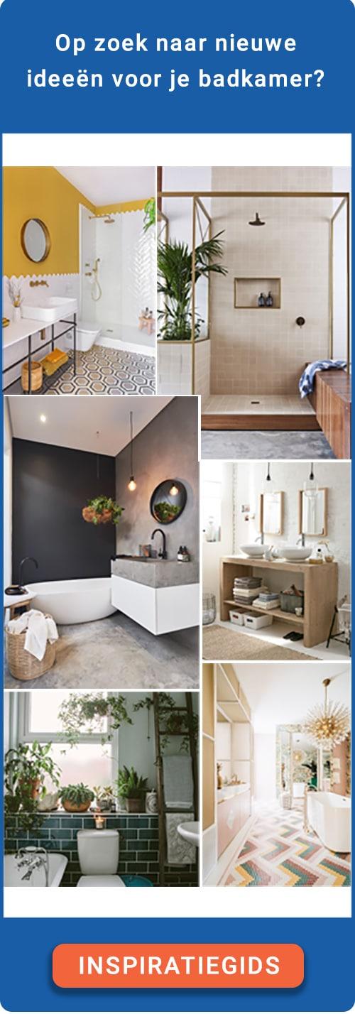 Nieuwste badkamertrends