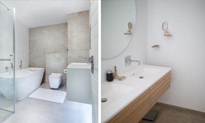 Sanitaire installaties badkamer