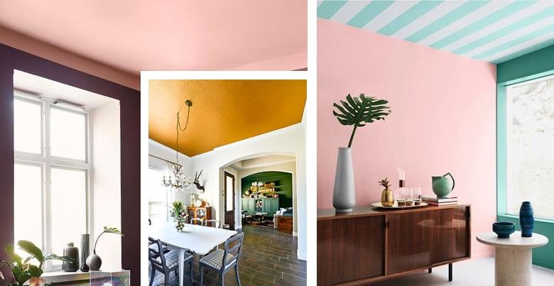 Plafond schilderen: werkwijze, tips en inspiratie