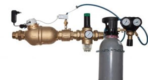 Waterverzachter met CO²