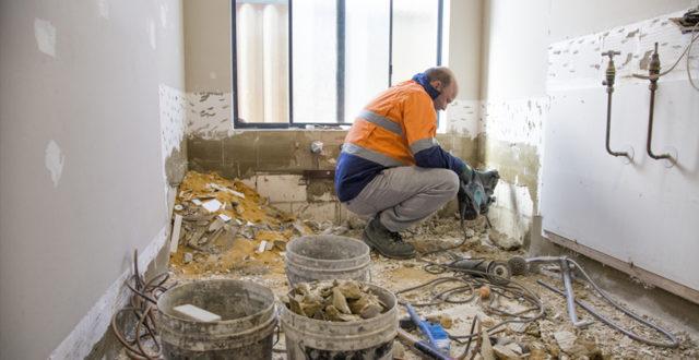 Hoe oud pleisterwerk herstellen?