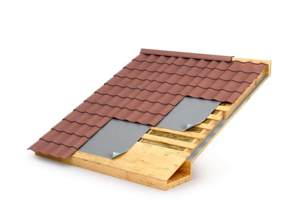 Delen van een dak: je dak isoleren langs binnen of buiten