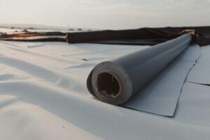 PVC dakbedekking plat dak