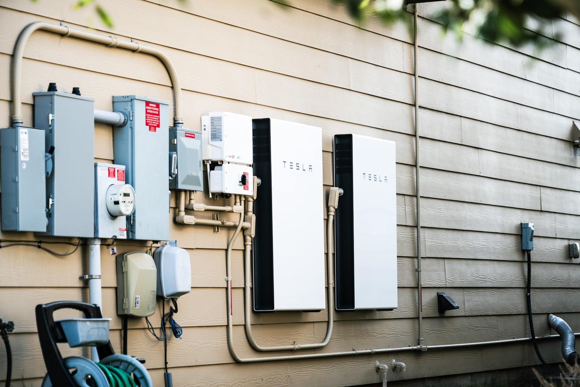 Thuisbatterij Tesla