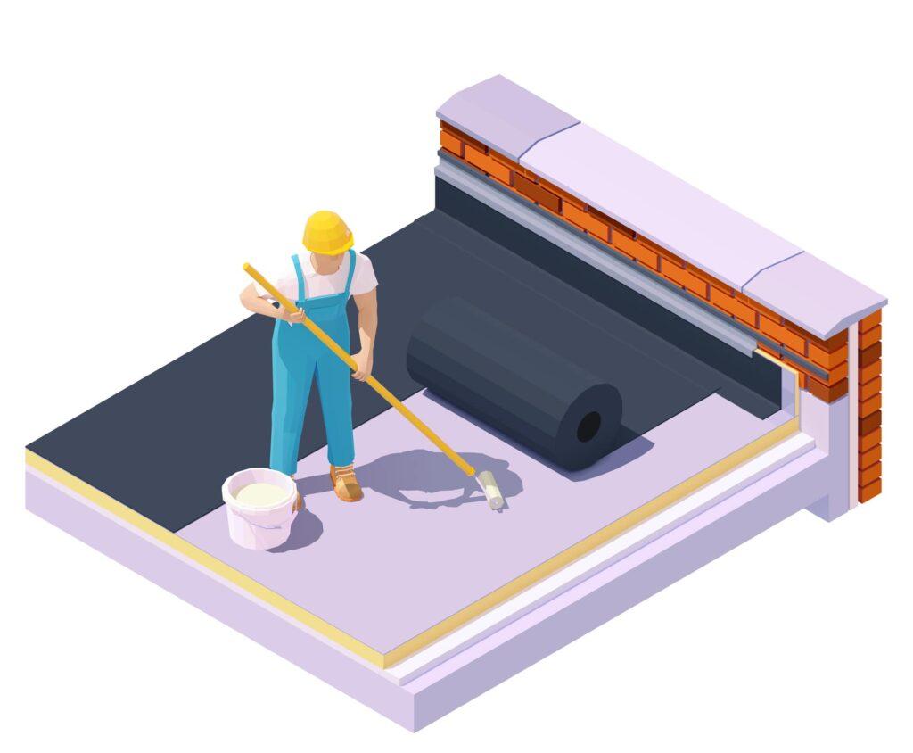 EPDM dak installateur