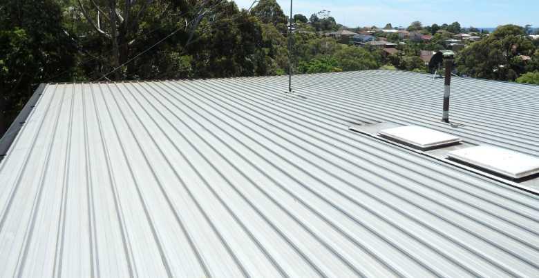zinken platte dak