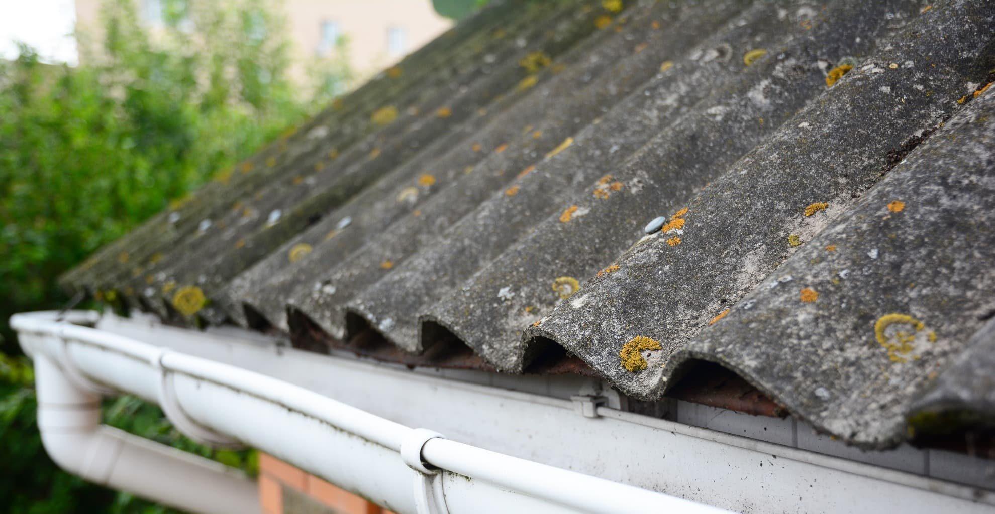 Asbest dak verwijderen