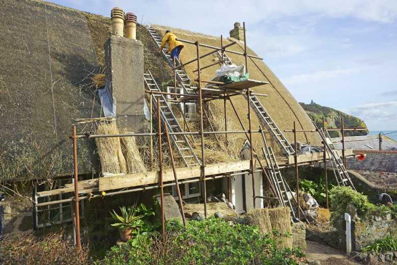 onderhoud dak riet