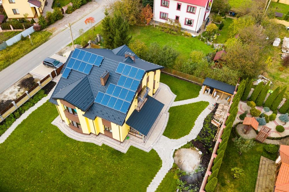 opbrengst zonnepanelen berekenen - ligging zonnepanelen