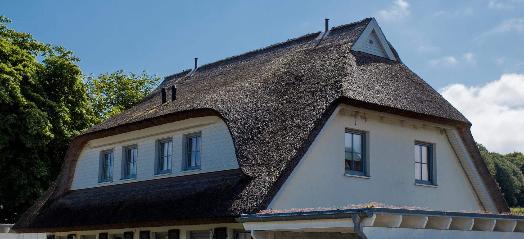 Rieten dak: prijs per m², plaatsing en onderhoud