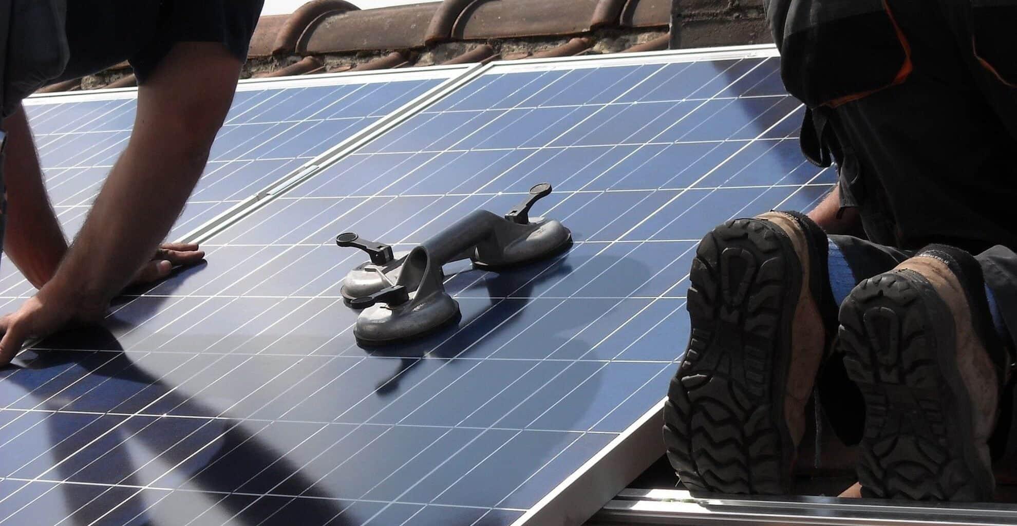 zonnepanelen installeren