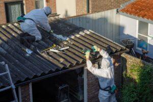 Dakwerken asbest verwijderen