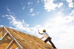 Dakwerken nieuwe dakconstructie