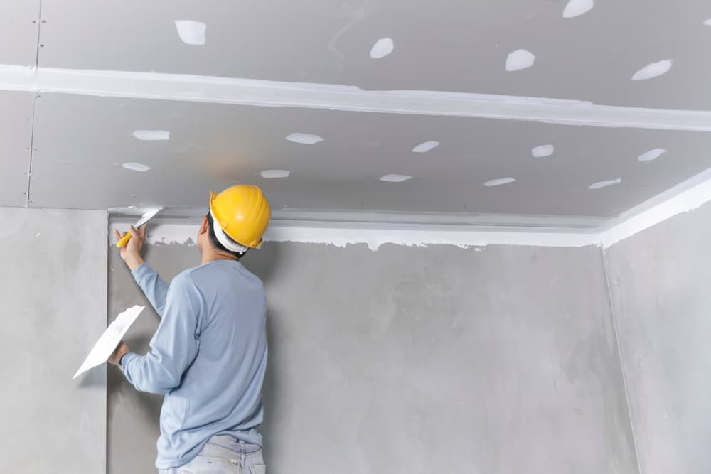 Pleisterwerk plafond