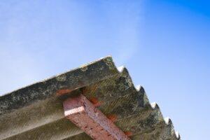 asbestbloemen en wafelstructuur
